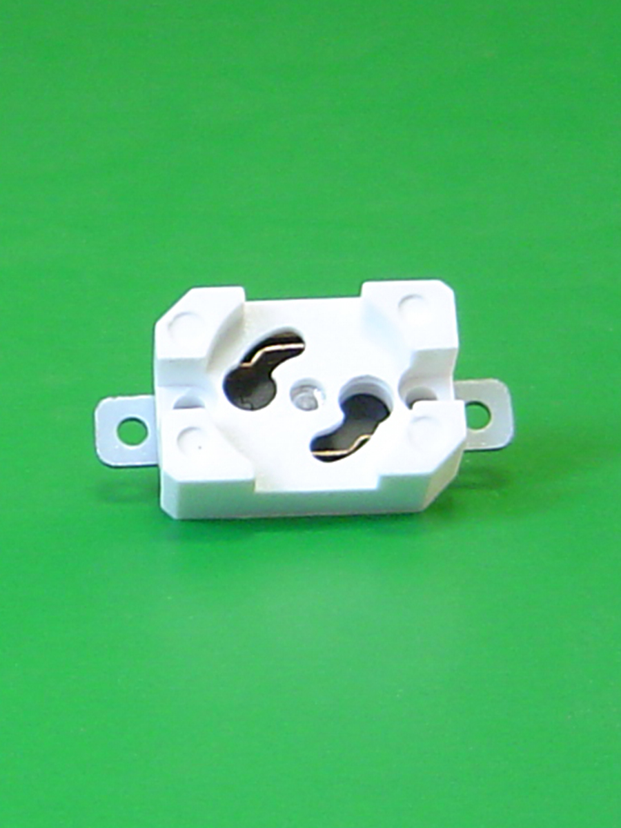 Starter Base Flat Bracket Clearance Holes For 1/8 Rivets