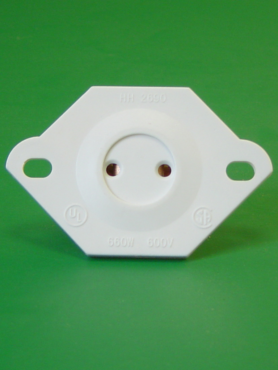 Bi Pin Rapid Start Turret Socket