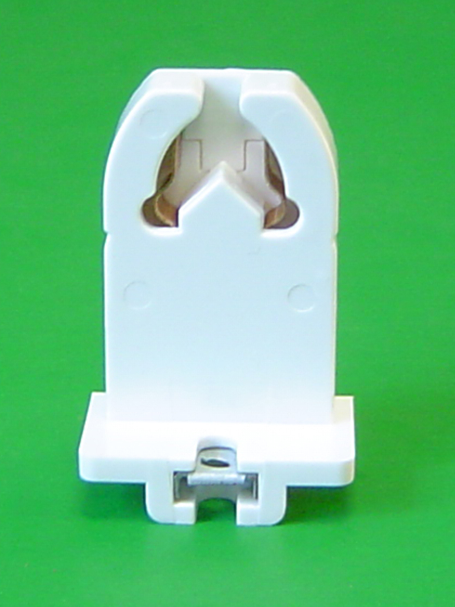 Shunted Medium Bi-Pin Flush Mount W/Nut