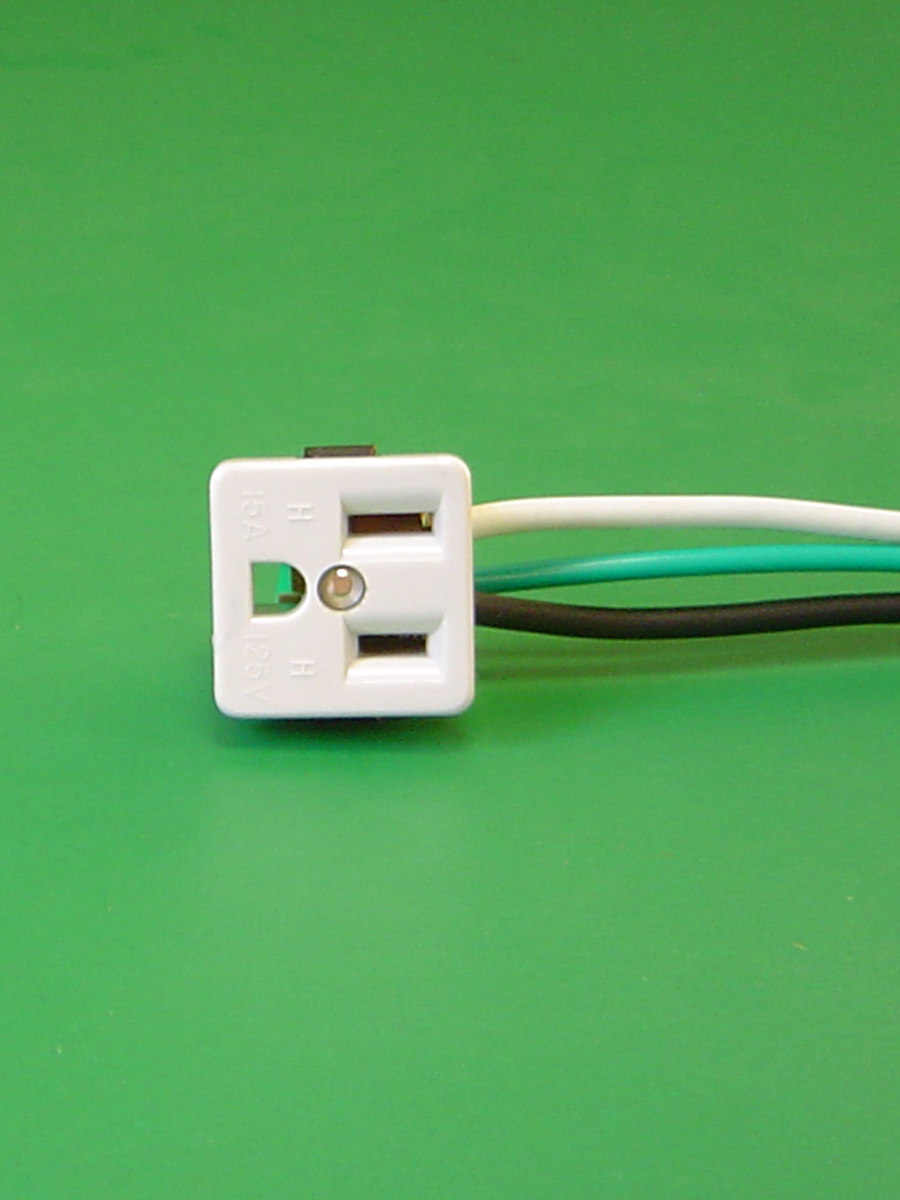 Convenience Outlet in White