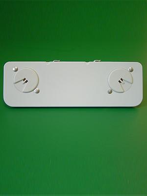 2 Light T-5 Shunted Mini Bi-Pin Stationary End