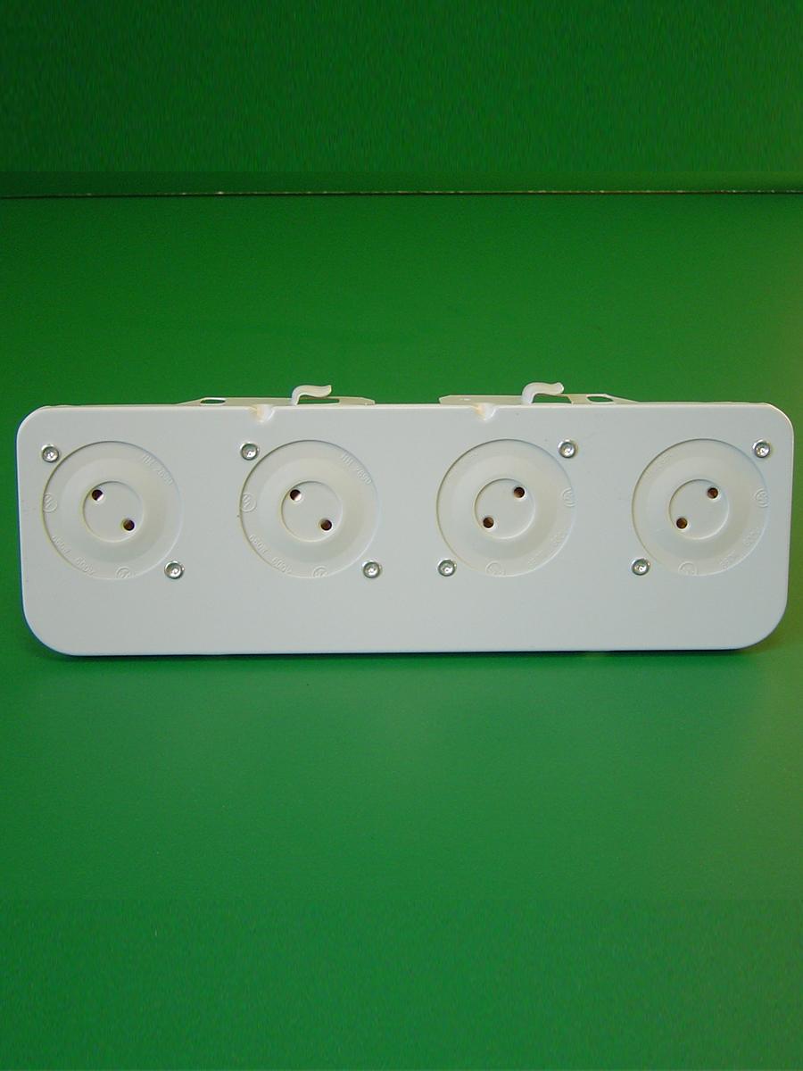 4 Light Shunted Bi Pin Stationary End